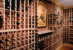 Buy cedar wood without stain wine rack from Ciematic now, to get one stop service from design to delivery,5% discount ONLY in this week Wine Rack Design, First Instagram Post, Rare Wine, Wine News, Wine Sale, Wine Collection, Wine List, Wine Drinks, Get One
