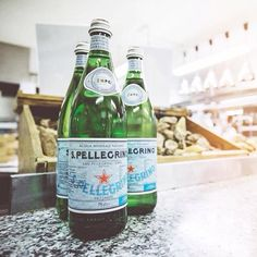Three bottles of S.Pellegrino? Sounds good to us!