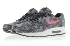 NIKE AIR MAX 1 FB (BLACK/BRIGHT CRIMSON) | Sneaker Freaker