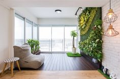 7 Design Tricks to Transform Your Home Interior Design From Insipid Into Fabulous Vertical Garden Wall, Renovation Budget, Ceiling Design, Design Firms, Industrial Style, Home Interior Design, House Styles, Balcony, Home Decor