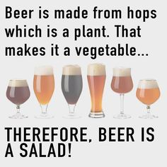 One beer equals a serving of veggies so drink up! #beer #craftbeerlover #craftbeer #craftbeerporn #craftbeerjunkie #craftbeerlife #craftbeers #itsfriday #louisiana #neworleans #austin #texas #mechanicsburg #pennsylvania #kcco #chiveonamerica #chivettes #chivers #frenchquarter #bourbonstreet #jacksonsquare by elemaire06