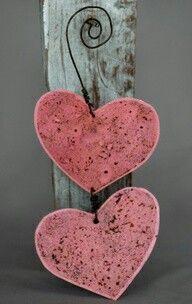 Roze hartjes
