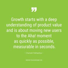 Growth starts with a deep understanding of product value, according to Chamath Palihapitiya Newsreader, Marketing, Words Quotes, Investing, Wisdom, Deep, Teaching, Education, Onderwijs