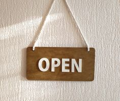 Open Closed Sign double sided sign Reclaimed by FriendlyEvents Closed Signs, Open Signs, Open Close Sign, Tea Eggs, Kitchen Signs, Business Signs, Shop Window Displays, Shop Interior Design, Healthy Snacks For Kids