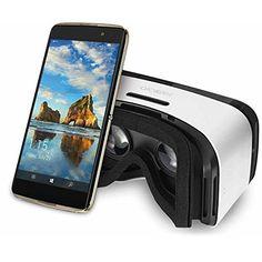 اسمارت فون آیدل 4 اس آلکاتل همراه عینک وی آر - Alcatel IDOL 4S Unlocked Smartphone with VR Goggles
