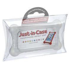 Just-in-Case Smartphone Impact Grip - Opaque