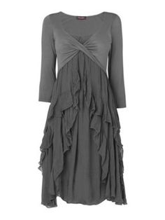 3/4 length sleeve dress-the best of both worlds.