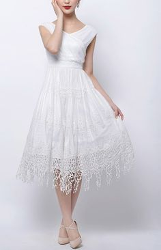 Custom Made Unique Crisscross Pleated NonTraditional by LAmei, $210.00
