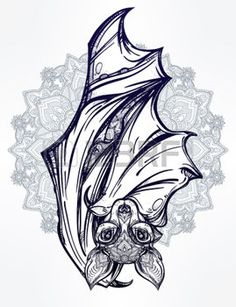 bat tattoo - Buscar con Google