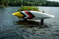 abitibi & Norquay Co. are bringing creativity to the outdoor with an exclusive line of hand-painted canoes. A collaboration of function and design, this pre