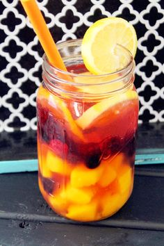 Fat Flush Mango Berry Spa Water