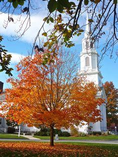 Concord, Massachusetts is a transcendentalist location. Transcendentalism started here.