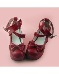 If your desired one is not inside, check our lolita shoes tips page to see full color chart for more info. Red Shoes, Sock Shoes, Cute Shoes, Lolita Shoes, Lolita Dress, Kawaii Shoes, Japanese Fashion, Steampunk Fashion, Lolita Fashion
