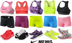 Women's Nike Running Clothes   Ladies Workout clothes   Workout Shorts   Running Shorts   Sport Bras   Nike Pro   Nike Shoes http://www.FitnessApparelExpress.com
