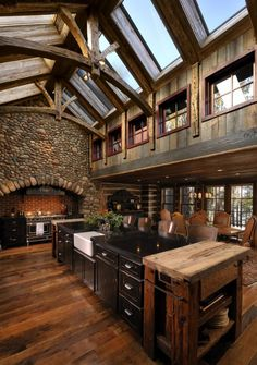 Lake Country Builders | Rustic Kitchen