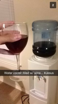 Water to wine! #jesus