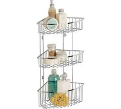 Argos wall mounted shower caddy - for my bathroom so sill stays clear - £11