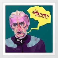 Dr. Lazarus Art Print by Paperbeatsscissors - $14.56