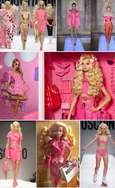 Desinger moschino Barbie dolls