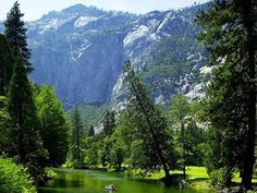 Floating the Merced River, Yosemite Valley, California  photo from scarbian