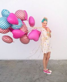 pink balloons make the world go round!