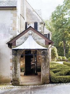 The prettiest awning in Atlanta, at Boxwood, via Things That Inspire.