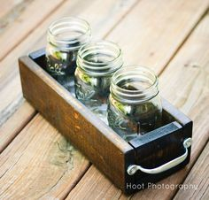 Hoot Designs: Mason Jar Planter - DIY (or could use as utensil holder)