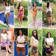 Summer 2016, Summer Collection, Trendy Outfits, Product Launch, African, Twitter, Check, Skirts, Fabric