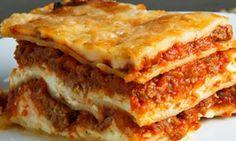 Cómo preparar una lasagna rápidamente.