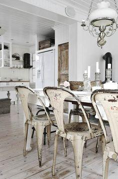 Ideas para decorar con muebles pintados en blanco | Decoración
