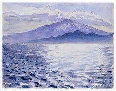 Akseli Gallen-kallela Painting - Etna by Celestial Images