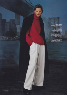 EDITORIAL- Vogue [US] (July, '97) Celebrating 21st century posture - This is so now!