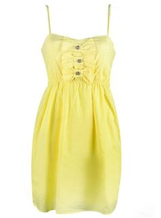 Fun little summer dress. I love all the colors!