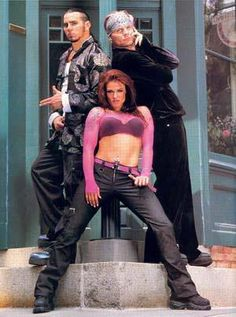 #throwbackthursday Team Xtreme Matt and Jeff Hardy and Lita (Amy Dumas)