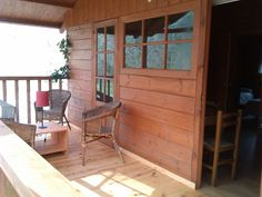Terraza bungalow Tipo B