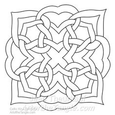 Celtic knot templates celtic knots tangled and glass pronofoot35fo Image collections