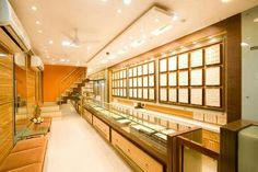 jewellery shop at ratnagiri, designed by cultural's interior designer Jewellery Shop Design, Jewellery Showroom, Jewelry Shop, Jewelry Stores, Diwali Wishes, Happy Diwali, Tv Furniture, Furniture Design, Shop Interior Design