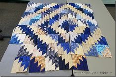 Scrappy Mountain Majesty - Bonnie Hunter free pattern