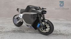 Future technology Concept Electric Motorbike Nivach