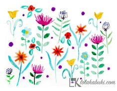 #acuarela, #watercolor, #color, #floressilvestres Owl, Watercolor, Prints, Watercolor And Ink, Wild Flowers, Paintings, Illustrations, Artists, Art