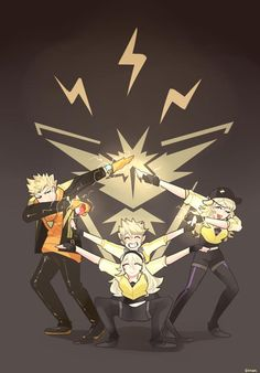 PokemonGO Spark & Team Instinct<<< BRUH DOES ANY ONE REALIZE THIS IS A FIRE EMBLEM CROSSOVER?!?!