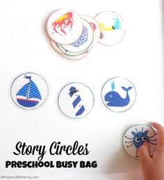 Story Circles Preschool Busy Bag