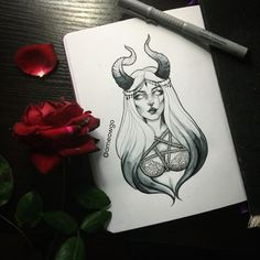 Music Ilustration Girl Ideas For 2019 Kunst Tattoos, Body Art Tattoos, Dark Art Drawings, Tattoo Drawings, Arte Sketchbook, Arte Horror, Future Tattoos, Art Inspo, Art Sketches