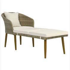 chaise longue pliante resine tressee