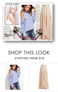 """""""shein"""" by misssunrise ❤ liked on Polyvore featuring Lanvin and Dolce&Gabbana"""