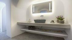floating bathroom vanity instead. Also often referred as wall mounted bathroom vanity, the floating bathroom vanity cabinet provides a variety of design opportu Floating Bathroom Vanities, Bathroom Vanity Designs, Floating Vanity, Bathroom Vanity Cabinets, Bathroom Trends, Single Bathroom Vanity, Bathroom Ideas, Floating Cabinets, Ikea Bathroom