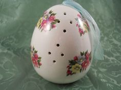 Vintage Flower Themed egg shaped Closet Room by MissPattisAttic, $12.00