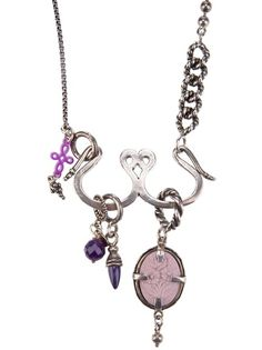 GEM KINGDOM Charm Necklace