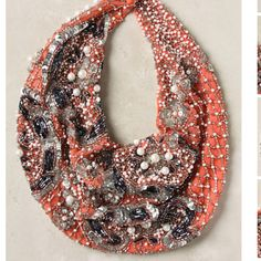 Scarf necklace from anthro