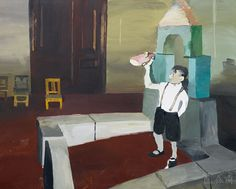 A boy's dream, 2004. Qiu Xiaofei.